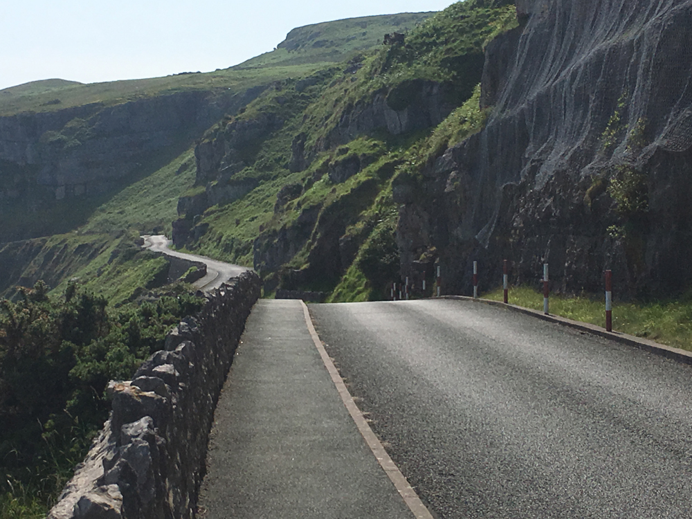 The Great Orme Winding roads