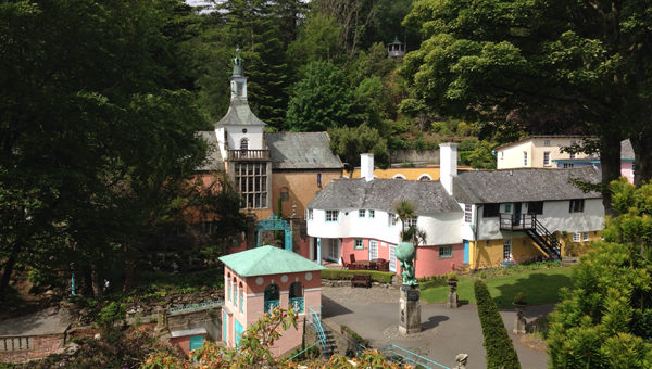 Portmeirion Village Scenery