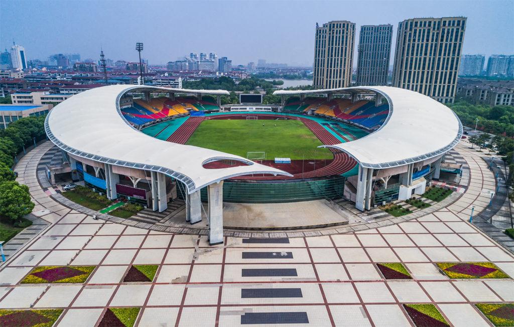 Wonderful Football Ground