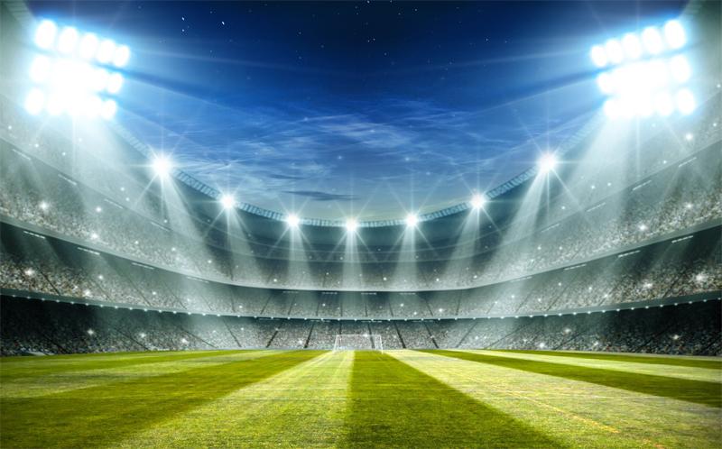 football ground lights
