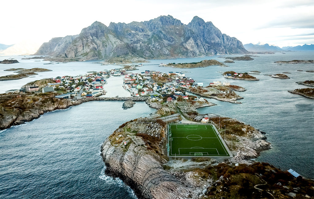 football pitch norway